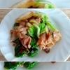 ごまドレッシングで豚バラ白菜