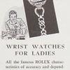 ロレックスが最初に作った腕時計は意外にも男性用ではなく女性用だったというお話