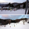 初滑り!桑名から1時間30分、奥伊吹スキー場へ。