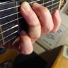 2021/02/21 Sun. ギターで負傷する。