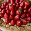 「いちごのタルト」Tarte aux fraises: タルト オ フレーズ。自家製「アーモンドプードル」と「アーモンドクリーム」作り方・レシピ。