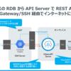 オンプレOracle DB にCloudGateway 経由でGoogleAppsScript からWEB APIでアクセスしてみた:CData APIServer
