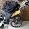レンタルの車椅子を返却する