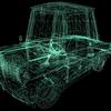 【Unityシェーダ入門】3Dモデルをワイヤーフレームで表示する