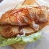姫路市のカフェドクリエで「トーストサンド 宮崎日南どりのスパイシーチキン」をテイクアウトで食べた感想