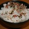 【新発売】男梅ふりかけ×熱々炊きたての白米がめちゃくちゃうまい