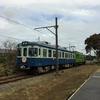 銚子電鉄の架線柱1