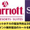 SPG・マリオットホテルの宿泊予約は350日先まで可能!ポイント無料宿泊のルールを解説