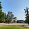 駅のホームから超間近に見える福山城 [日本100名城] [広島県福山市]