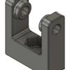 Fusion360で、Flsun Cubeに付属している名称不明のプラスチック部品の1つをモデリングする