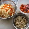 親鶏玉ひも入り炊き込みご飯作りました。