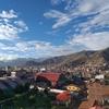 ペルーの各地で撮った空