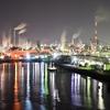 工場夜景 周南大橋