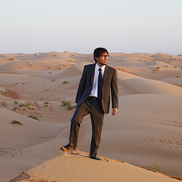 マンガ『マスターキートン』の知識「砂漠ではスーツがいい」は本当か? マジの砂漠にスーツで行ってみる