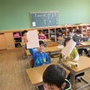 3年生:最後の学活 通知表をもらう③