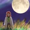 【鬼滅の刃】錆兎 中秋の名月デジタルイラスト