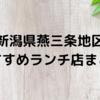 地元民が選ぶ本当においしい新潟県燕三条地区おすすめランチ店8選