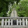恒見神社 境内の南側にまつられる庚申塔 福岡県北九州市門司区恒見町