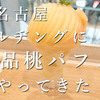 愛知No.1カフェ!?ミールカフェが名古屋駅にやってきたので早速桃パフェを食べてきた