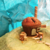 【オープンスタジオのお知らせ】<「たべれる模型WorkShop」&「30のおいしい家」展>