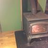暖炉に火が…、冬がヒタヒタと