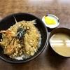 神奈川区山内町 横浜市中央卸市場の「伊豆屋」で天丼