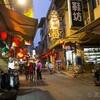 金門島の繁華街の写真