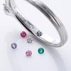 リングの内側に宝石を埋め込んで!二人の愛のお守り (京都 結婚指輪 ブルードア)
