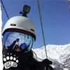 GoPro HERO5 Session、ヘルメットマウントで撮影してみたよ(スキー)
