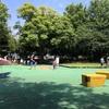 平和公園水遊び