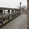 桜待つ浅野川沿い・・