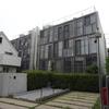 No.190⌒★【目黒区】と周辺の建物1・目黒区役所、森のとなり、東京恩寵教会