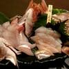 天然真鯛を三種の味わいで