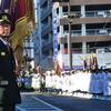 7日は福島市の消防出染め式。常備消防の人員増こそ安全の守り。