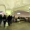 モスクワのメトロの駅は芸術的!コムソモリスカヤ駅編 @ モスクワ