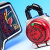DXブラッドオレンジロックシード 仮面ライダー武神鎧武セット レビュー