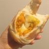 白神こだま酵母を使った柔らかベーグルのお店橙へ!ほくほく雪化粧かぼちゃベーグル&ナッツ生地に蜂蜜とバターをサンドしたベーグル。冷凍保存で2週間は大丈夫だそうですよ!