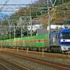 2月22日撮影 東海道線 大磯~二宮間 平塚~大磯間 貨物列車5本撮影