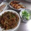 幸運な病のレシピ( 1497 )朝:ワラサ麹味噌、牛肉ピーマン五目炒め(青椒肉絲風)、手羽味噌漬網焼き、味噌汁