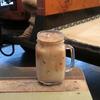 築地の「ターレットコーヒー」でターレットラテアイス。