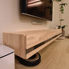 フロートテレビボードは組み立て式(ノックダウン式)という思い込み