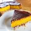 今日が食べ頃!かぼちゃのチーズケーキ