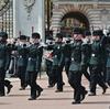 パリ・ロンドン旅行2018_Day5-1_バッキンガム宮殿の衛兵交代式