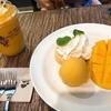 ベビー連れバンコク⑷ホテル朝食で離乳食、念願のマンゴー、ルーフトップバー