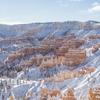 【雪の中の絶景】ブライスキャニオン国立公園で見たことのない世界に感動〜2020年12月〜