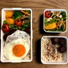 【常備菜活用】レンコンきんぴらとロコモコ風弁当