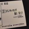 【カメラ】東京盃現地観戦してきました