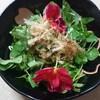ヘルシー時短料理2:ナスタチウムのサラダ