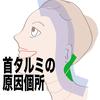 首のタルミ改善は後頭部まで動く柔軟性をつけよう!