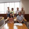 8月16日 住民団体が「茅ヶ崎市への要望書」を市長に提出
